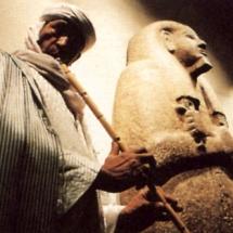 Mohamed Askari im Ägyptischen Museum, Foto: Berliner Morgenpost