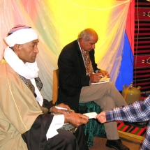 Mohamed Askari und Salim Alafenisch, Foto: Ulrike Askari