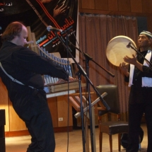 Volker Jäkel und Mohamed Askari in Ägypten