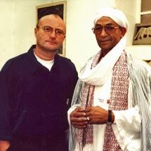 Phil Collins und Mohamed, Foto: Schlesische 27